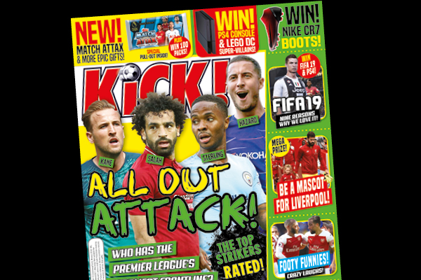 KiCK! Magazine Covers